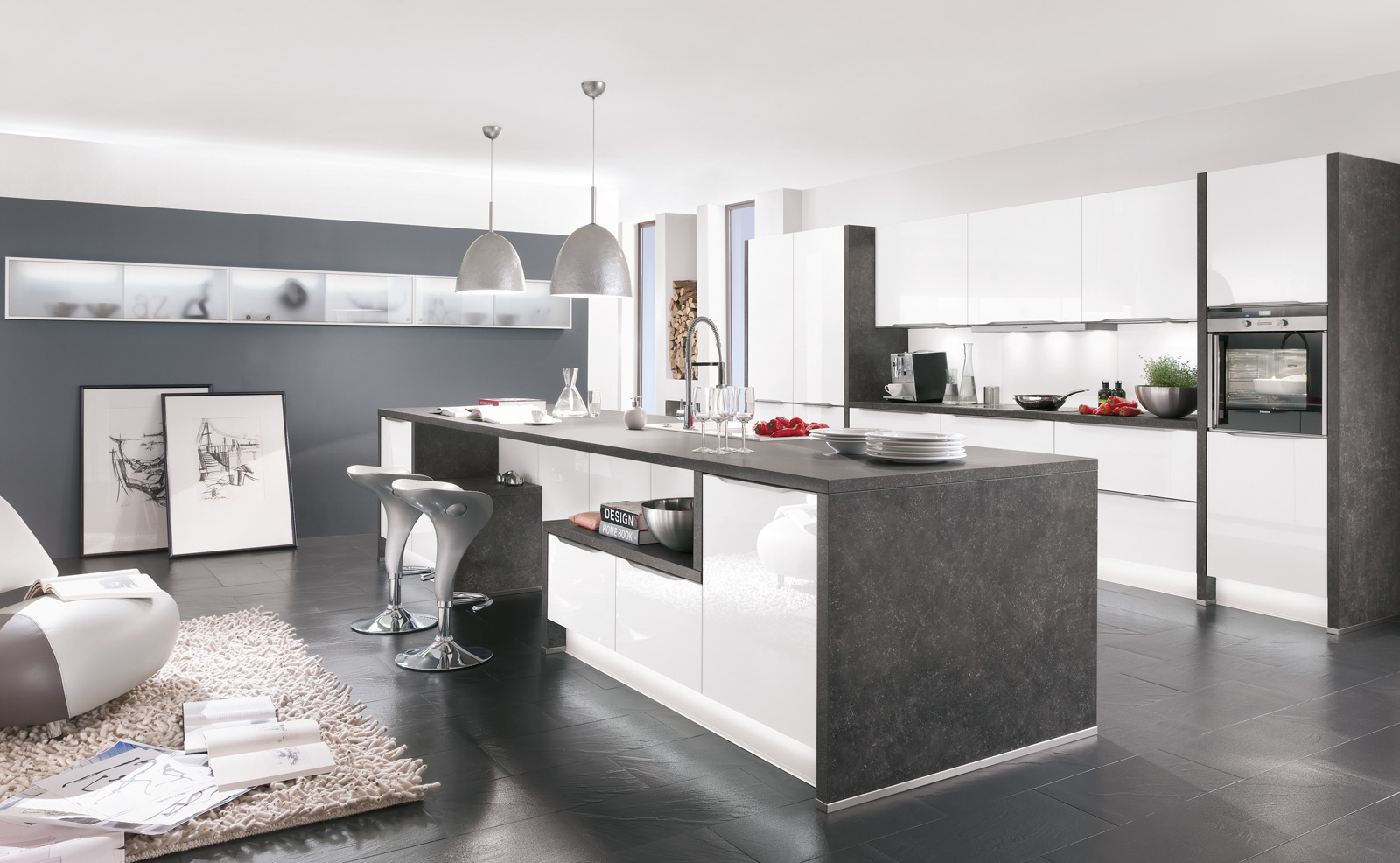 Küchenwelten - Insel-Küchen Silbernagel